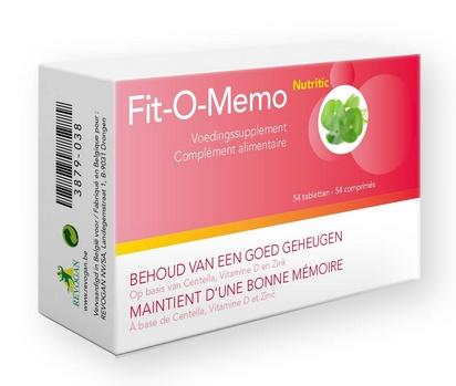 Nutritic Fit-O-Memo 54tabl