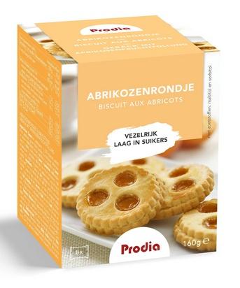 Prodia abricotines (8p) 160g maltitol