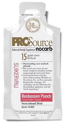 PROSource Nocarb myrtille 30ml