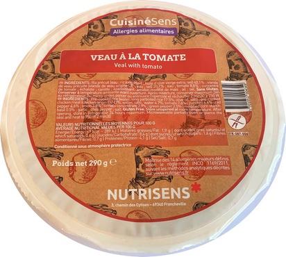 NS veau à la tomate et riz 290g x 10 all°(14)