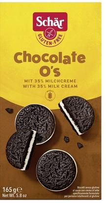 Schär chocolate O's 165g