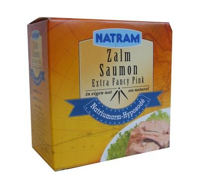 Natram saumon au naturel 213g