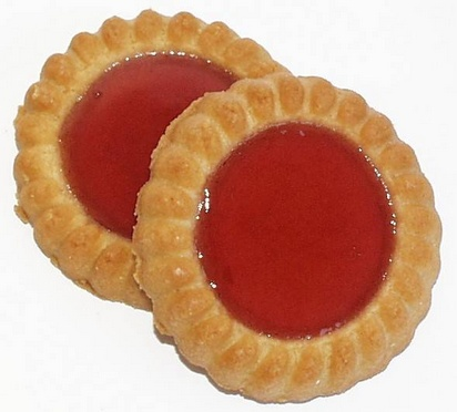 Prodia biscuits fourrés fraise  25g x 65 maltitol