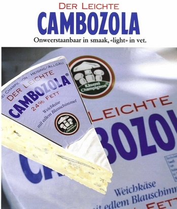 Cambozola light (1,6kg) 1kg