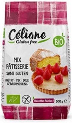 Céliane mix pâtisserie bio 500g