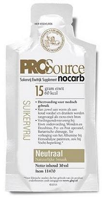 PROSource Nocarb neutre 30ml