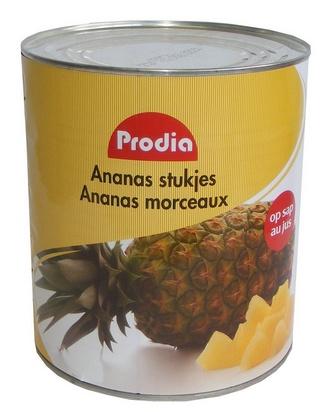 Prodia ananas en morceaux 3100ml