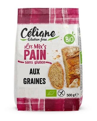 Céliane mix pain aux graines bio 500g