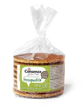 Consenza gaufres sirop 240g sans gluten