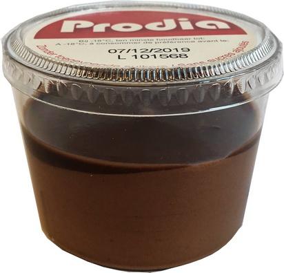 Prodia bavarois chocolat cup 75g x 24 surgelé