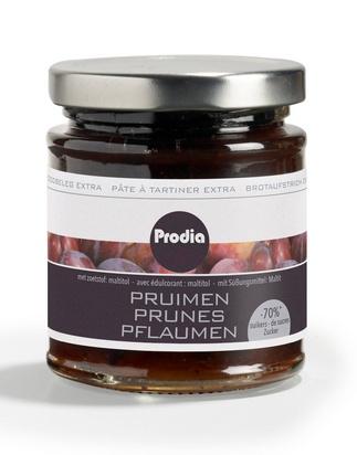 Prodia pâte à tartiner extra 215g prune maltitol