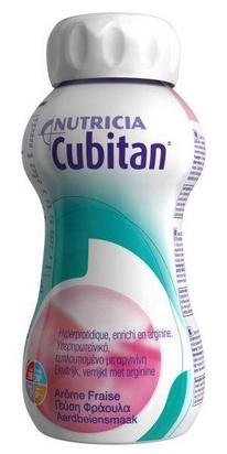 Cubitan fraise 200ml x 24