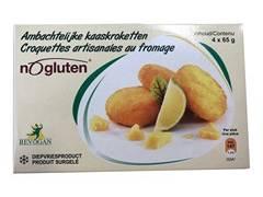 Nogluten croquettes au fromage 65g x 4 surgelé