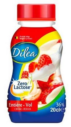 Dilea zero lactose crème entière 20cl