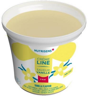 NS crèmeline 2Kcal saveur vanille 125g x 24