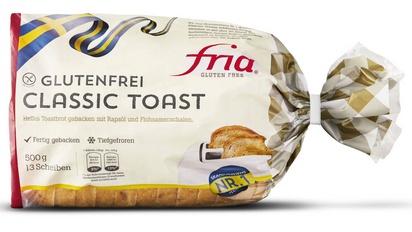 Fria classic toast en tranches 500g surgelé