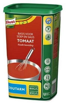 Knorr base tomatée pour veloutés/sauces p/sel 0,95