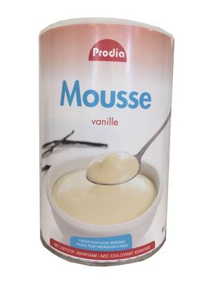 Prodia mousse à la vanille 760g édulcorant