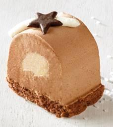 Prodia gâteau bûche mousse chocolat poire 70g x 15