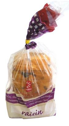 Consenza pain aux raisins en tranches 750g surgelé
