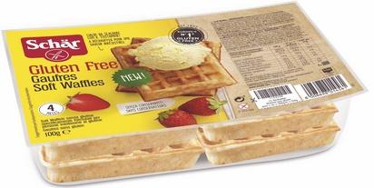 Schär waffles 100g (4x25g)