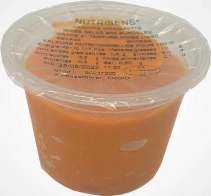 NS carotte vinaigrette 80g x 12 surg