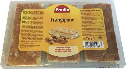 Prodia frangipane (3pcs)150g maltitol