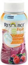 Resource fruit framboise-cassis 200ml x 24