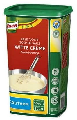 Knorr crème blanche base veloutés/sauces p/sel 1kg