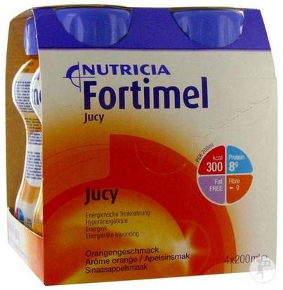 Fortimel Jucy orange 200ml x 24