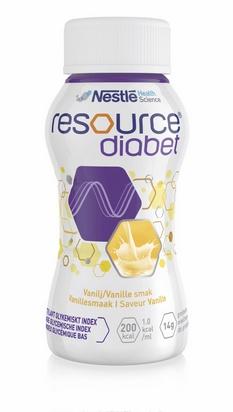 Resource diabet vanille 200ml x 24