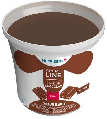 NS crèmeline 2Kcal saveur chocolat 125g x 24