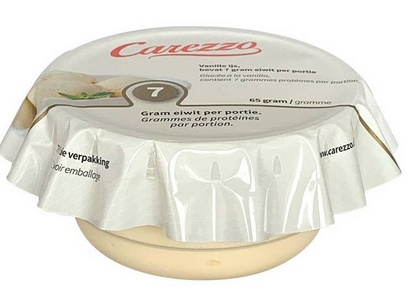 Carezzo glace vanille HP 65g surgelé
