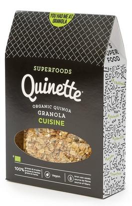 Quinette granola cuisine bio 250g