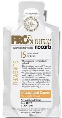 PROSource Nocarb goût de crème d'orange 30ml