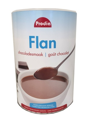 Prodia flan chocolat 600g édulcorant