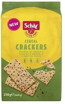 Schär cereal crackers 210g (6x35g)
