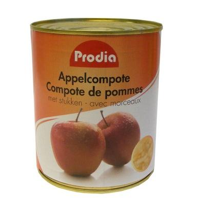 Prodia compote de pommes 850ml