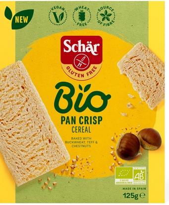 Schär bio pan crisp cereal 125g