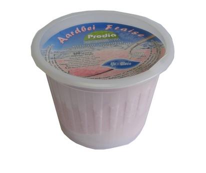 Prodia glace aux fraises 100ml x 24 surgelé