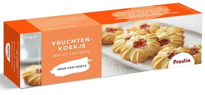 Prodia biscuits aux fruits 125g édulcorant