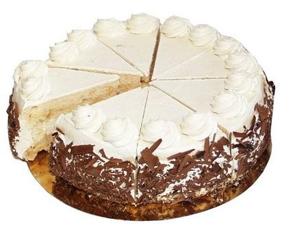 Prodia tarte progrès praliné 460g(8p) surgelé