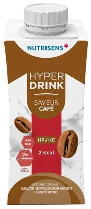 NS hyperdrink 2Kcal saveur café 200ml x 24