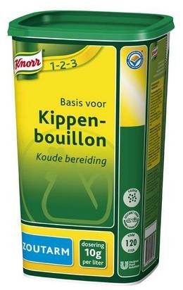 Knorr bouillon de poulet pauvre en sodium 1,2kg