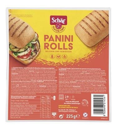Schär panini rolls 225g