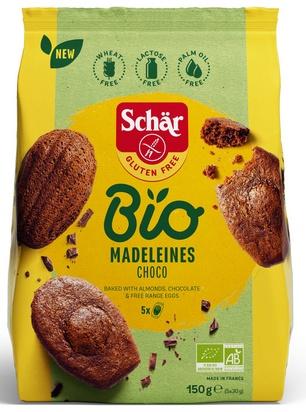 Schär bio madeleines choco 150g (5x30g)