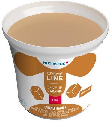 NS crèmeline 2Kcal saveur caramel 125g x 24