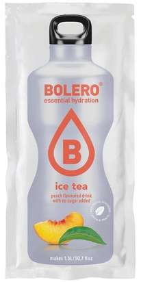 Bolero boisson aromatisée ice tea pêches 9g x 24