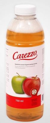 Carezzo boisson de pommes HP 750ml surgelé