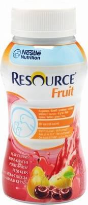 Resource fruit poire-cerise 200ml x 24